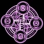 Amarre de amor con el círculo mágico, para que se muera por ti