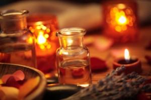 Conjuro de amor con aceites aromáticos