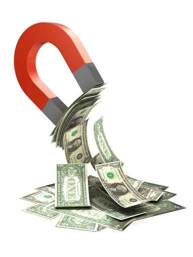 Baño Sencillo Para Atraer El Amor:Baño para atraer el dinero atraer-dinero-felicidad